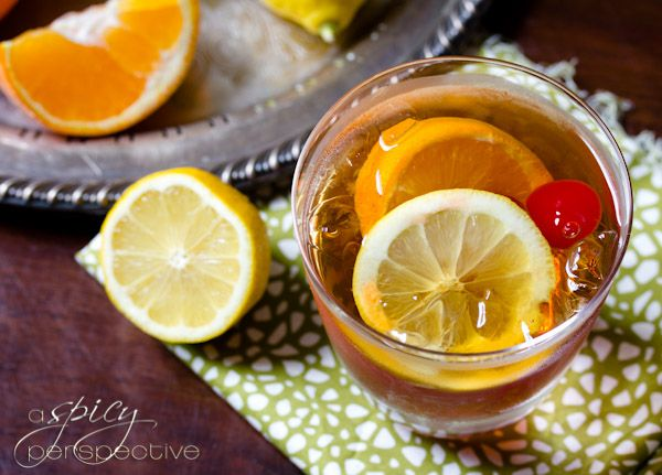 Sweet Tea Old Fashioned Cocktail | Recipe