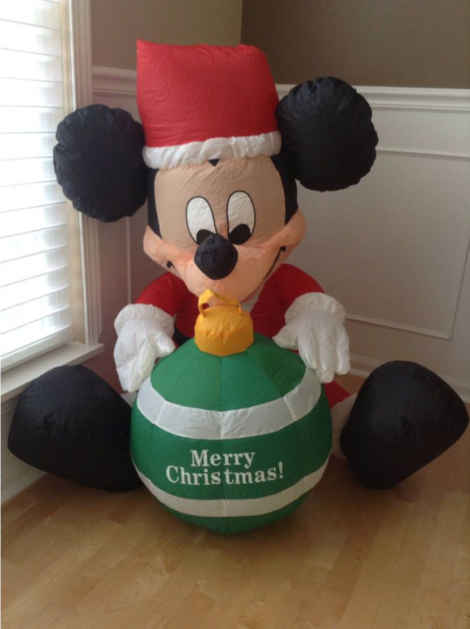 airblown inflatable disney mickey mouse 3 ft christmas decoration
