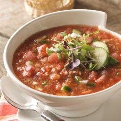 Watermelon Gazpacho | Soups, Stews and Chili's | Pinterest