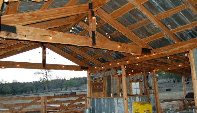 Texas Party Barns Backyard Ideas Pinterest