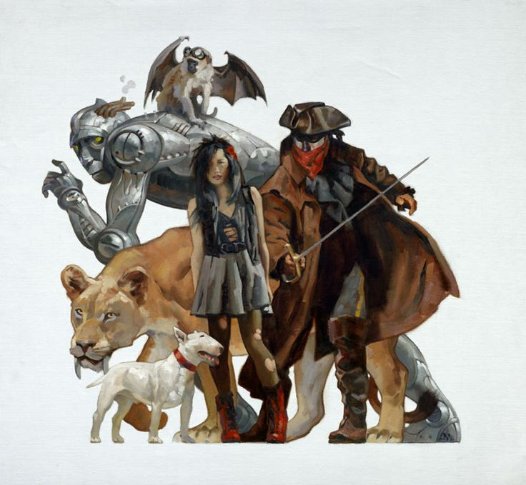 Wizard of Oz by  Gregory Manchess