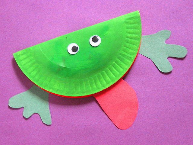 frogs crafts preschool - Google Search
