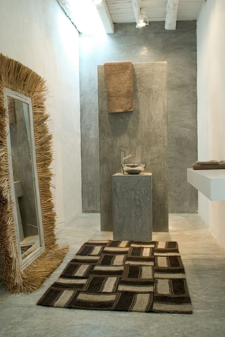 Tinas De Baño De Concreto:Concreto Pulido