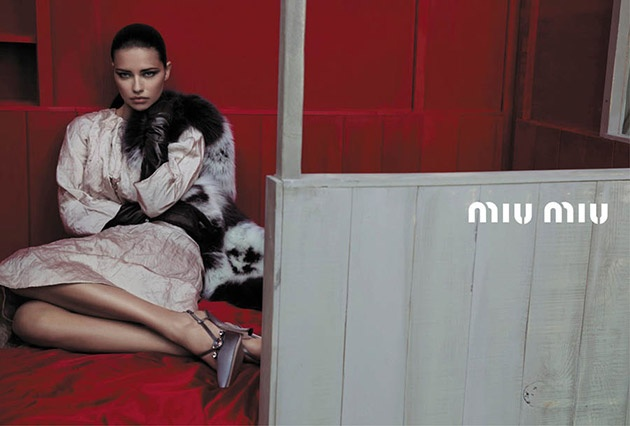 Lima  Bette Franke  amp  Others FRONT THE MIU MIU SPRING 2013 CAMPAIGNBette Franke Miu Miu