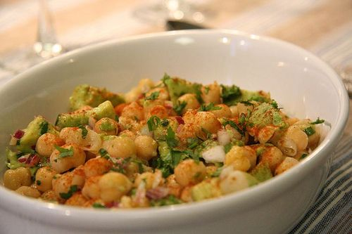 Chickpea and avocado salad | Food&Drink | Pinterest