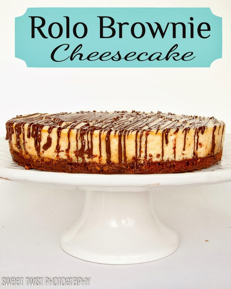 Rolo Brownie Cheesecake : Sweet Twist of Blogging