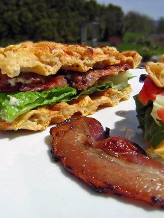 waffle blt | Breakfast | Pinterest