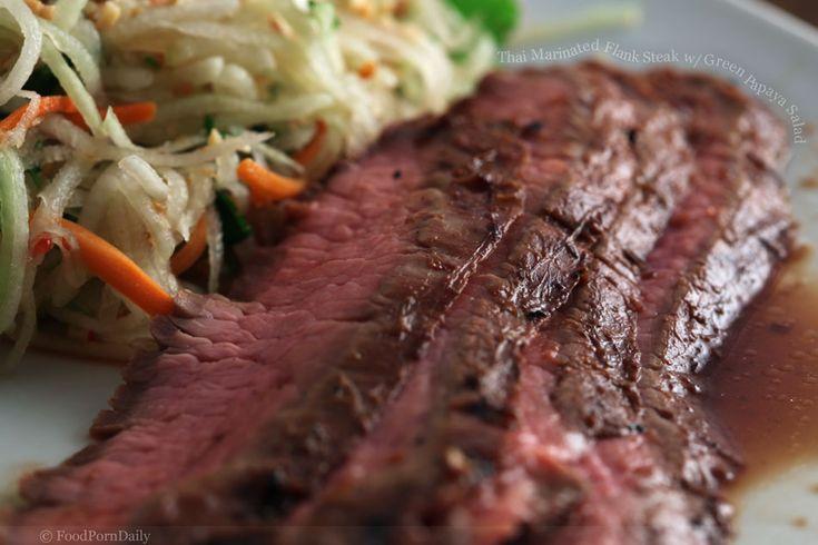 beer marinated flank steak grilled marinated flank steak thai style ...