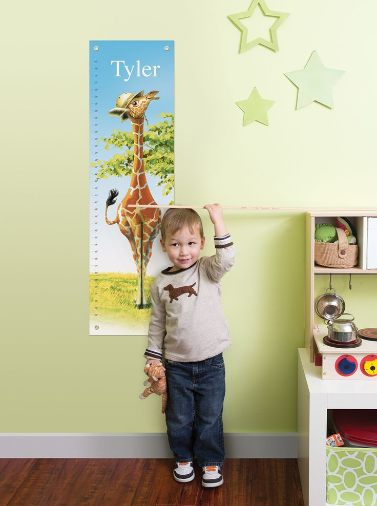 Enter to win a Personalized Growth Chart from I See Me! #win #giveaway
