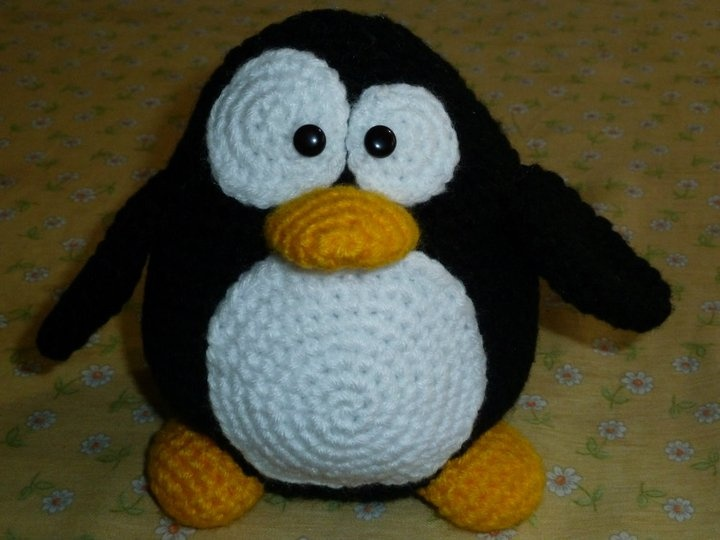 Amigurumi Penguin Crochet : Amigurumi tux linux penguin crochet pinterest