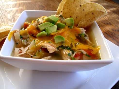 Chili's Chicken and green chili soup-Veronica's Cornucopia/Picky ...