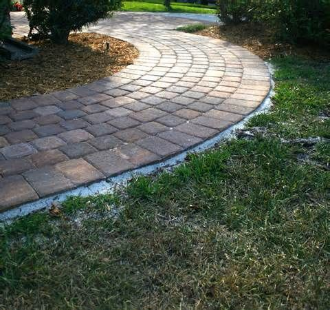 Pin by jannine bolton on cortez pinterest for Walkway ideas on a budget