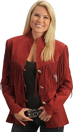 Longer Scully Fringe Leather Jacket