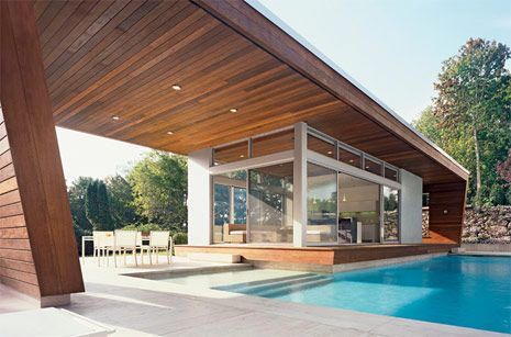 Cool Design Guest House Pool House Houses Pinterest