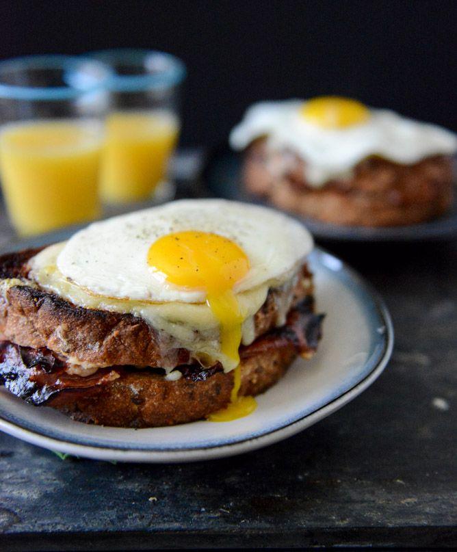 Croque Madame with Crispy Ham | Recipe