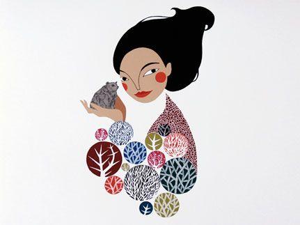 Forest Lady by Karolin Schoor