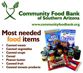 Community Food Bank For Southern Arizona