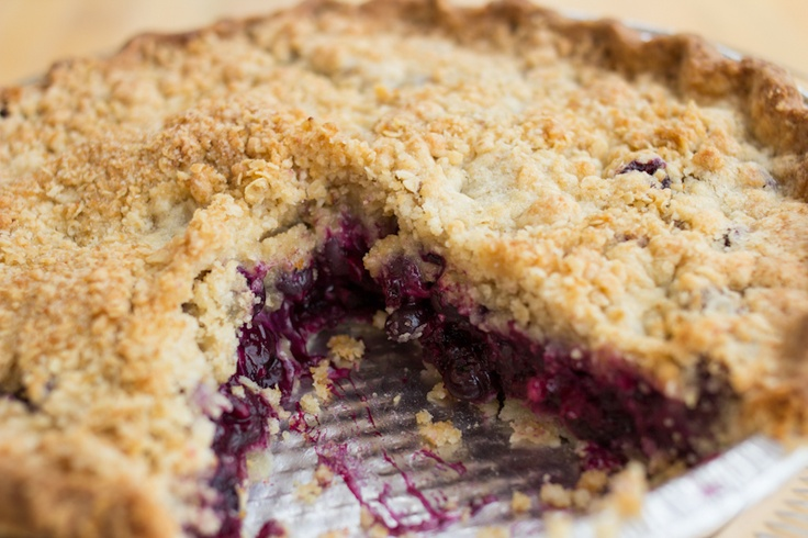 Blueberry Crumb Pie | Pie Shop | Pie/Crumble/Crisp/Cobbler | Pinterest