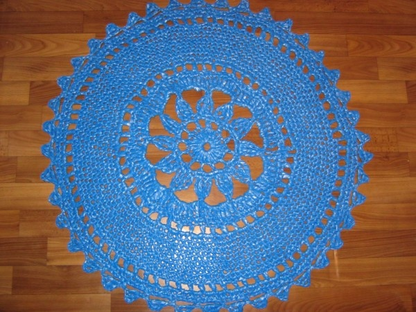 Crocheting Mats From Plastic Bags : mat from plastic garbage bags Knit & Crochet Pinterest