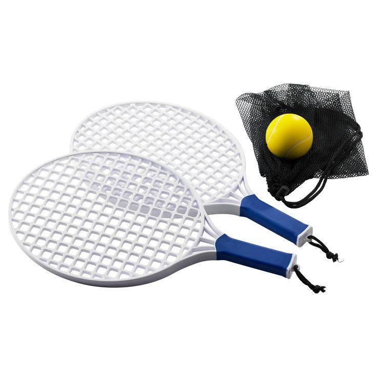 SOLUR 3-piece beach tennis racket set - IKEA