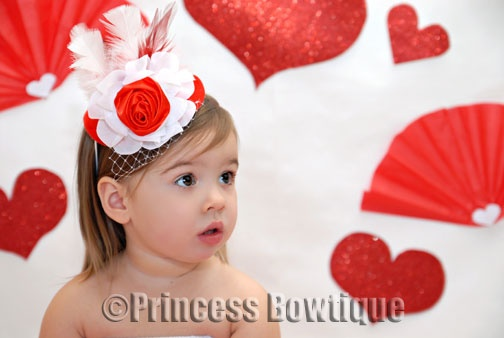 valentine's day headband craft