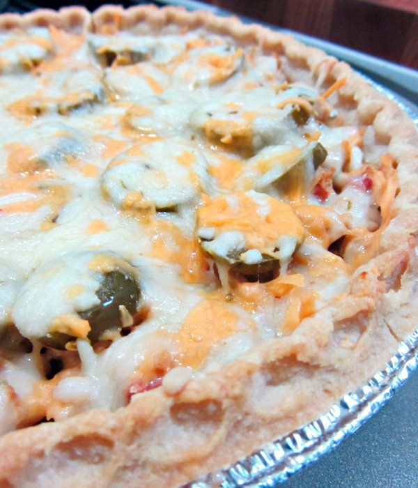 Chicken Chile Relleno Pie - Cooking with Cakes