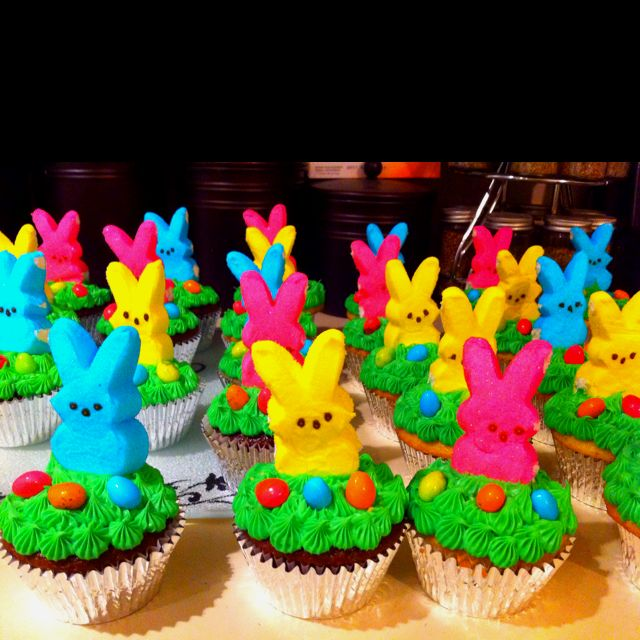 evening clutch bags Peeps Easter cupcakes  Favorite Recipes