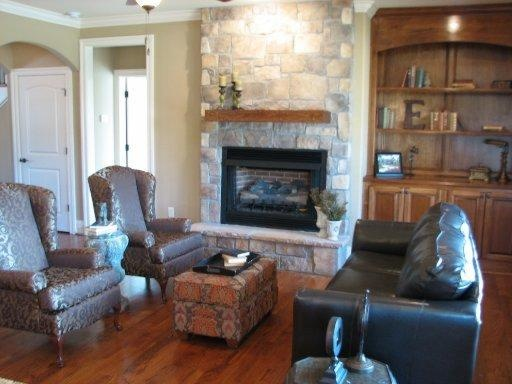 Stone Fireplace And Built Ins Healthy Clean Eating Pinterest