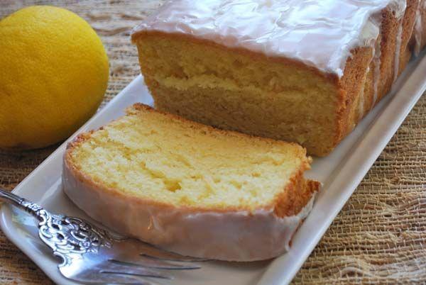 Greek Yogurt Lemon Pound Cake - cake w/ 4 g protein per piece? Yes ...