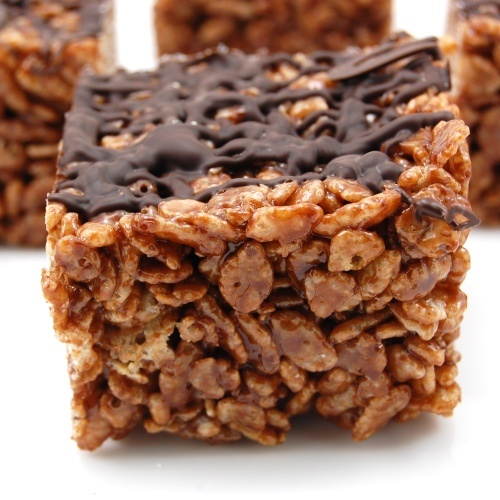 Chocolate Rice Krispies Treats Recipe — Dishmaps