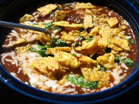 Black Bean and Salsa Soup   Vegetarian (and Pescatarian) Yummies!   P ...