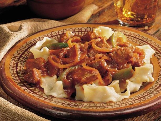 Hungarian goulash = incredible!!