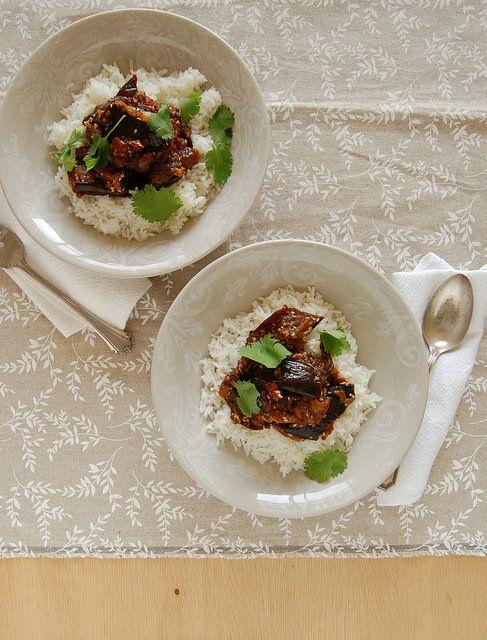 Sichuan spiced eggplant / Berinjela apimentada by Patricia Scarpin ...