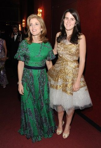 Caroline and her daughter my kennedy obsession pinterest for Tatiana schlossberg wedding dress