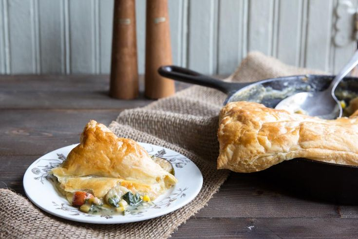 Chicken And Spring Vegetable Potpies Recipes — Dishmaps