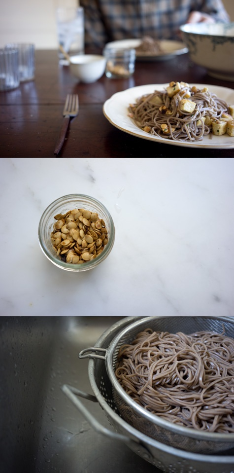 Ginger Soba Noodles | Recipe