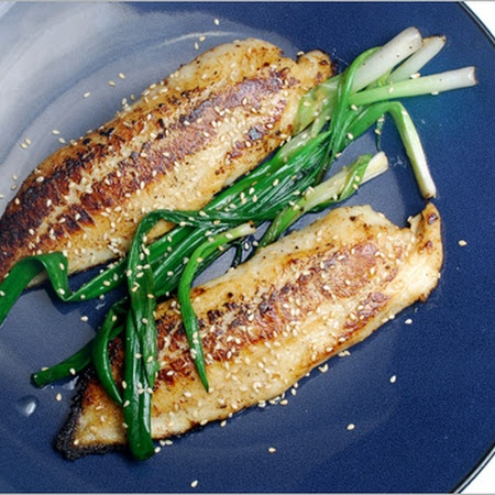 Tilapia with Miso and Scallions | Yummy | Pinterest