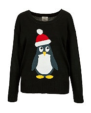 Christmas Jumpers at New Look Christmas jumpers (usually associated with cringe-worthy family Christmases) have made a bit of a comeback in the last few years, with many high street stores opting to bring the trend up to date with a few quirky touches.