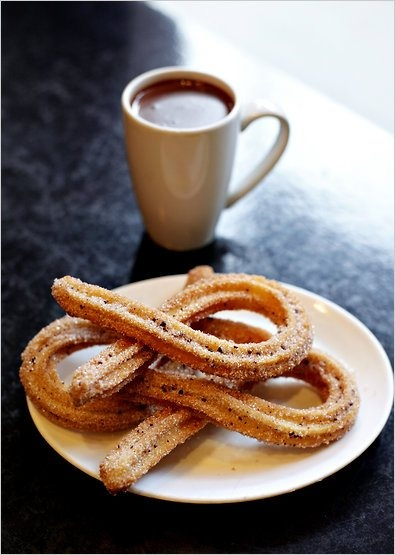 ... hot chocolate recipes dishmaps with mexican hot chocolate churros with