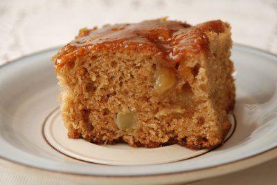 Apple Dapple Cake | For the Love of Cake | Pinterest