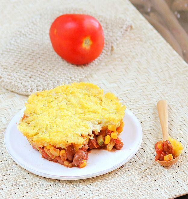 ... : Super easy dinner: Individual Mexican Tamale Polenta Pies. #Vegan