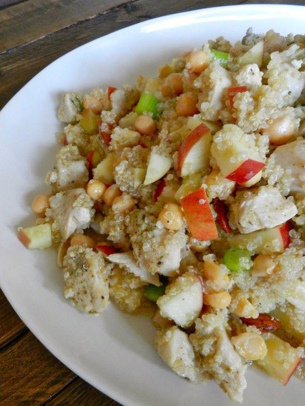 Red Quinoa & Broccoli Salad With Almond Honey Vinaigrette Recipes ...