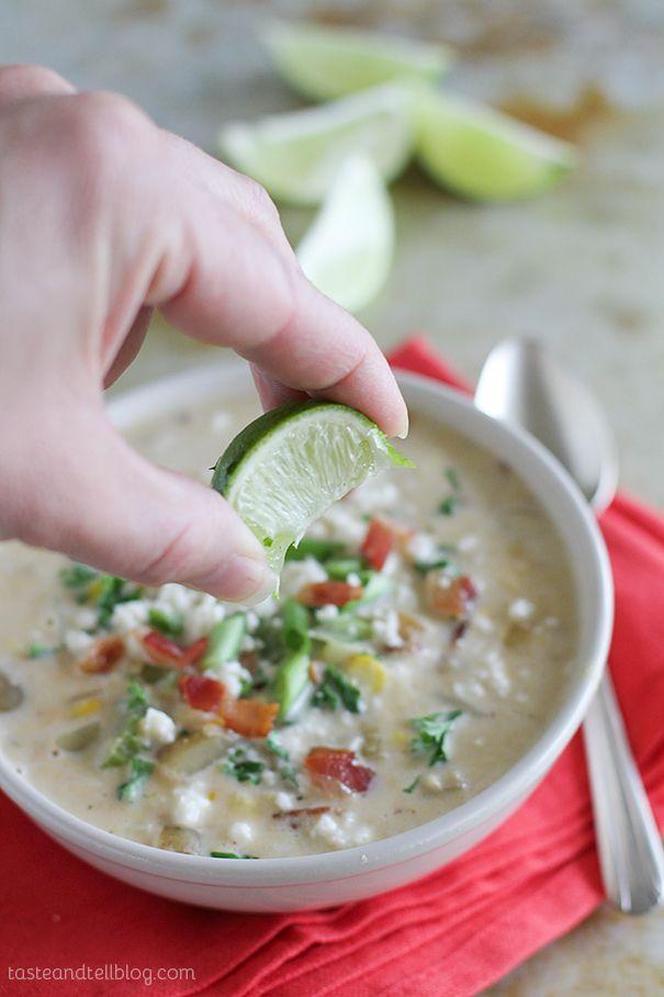 Recipe for Chipotle Corn Chowder