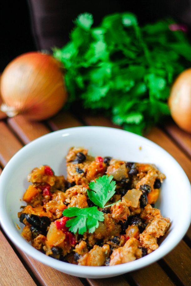 Turkey, Squash and Black Bean Chili | Recipes | Pinterest