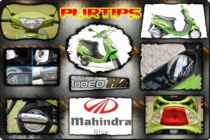 Mahindra - Rodeo RZ  The New Mahindra Rodeo RZ is all set to storm the Indian scooter.    http://purtips.com/Automobiles/Scooters/Mahindra-Rodeo-RZ/21069