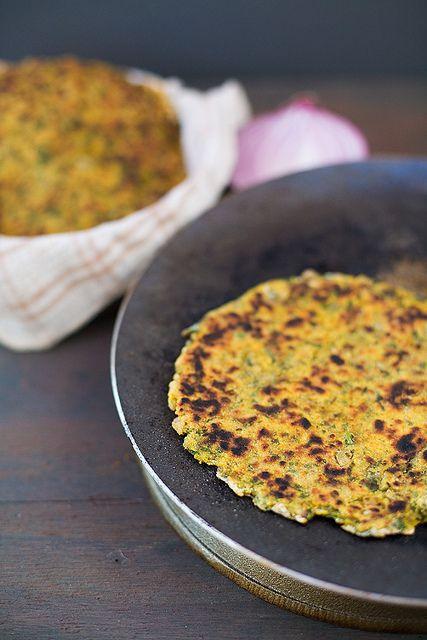 Vegetable Parathas (Indian flatbread)   Khana Khazana   Pinterest