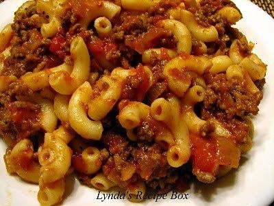 Goulash--substitute bison for ground beef and gluten-free pasta for ...