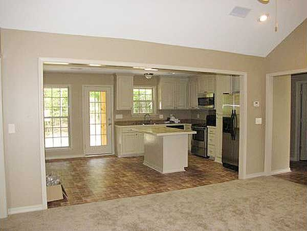 Three bedroom split layout for Kitchen remodel ideas raised ranch