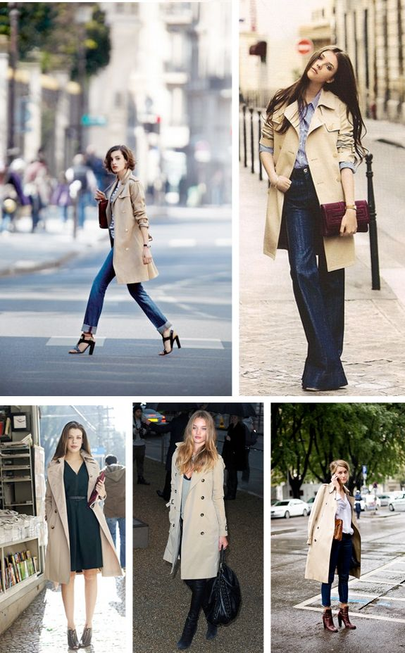 classic trench for fall/winter