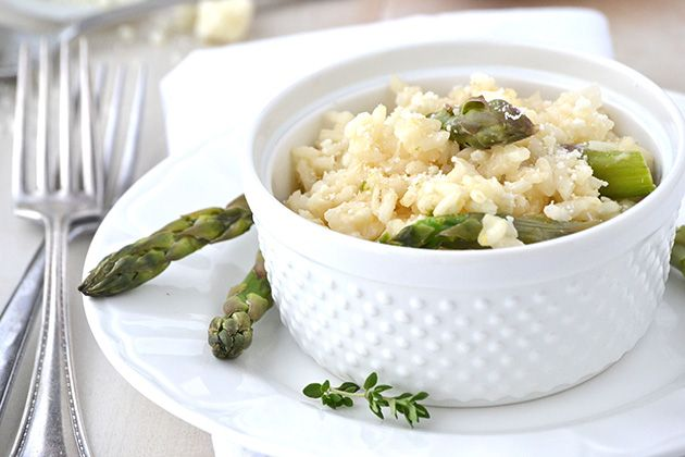 Lemon adn Asparagus Risotto ~ | Mouthwatering Food | Pinterest
